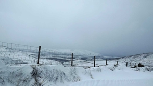 Snow at Conor Pass in Dingle (Pic: Collette Leahy)