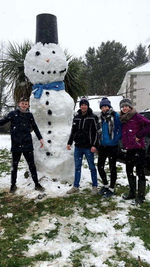 A shout for Ireland's biggest snowman? (Pic: Timmy McCarthy)