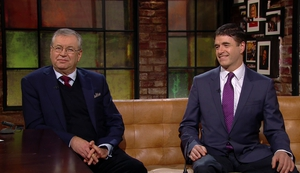 Joe Duffy and Gerry Murphy were on The Late Late Show