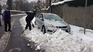 The clearout has begun for some in Waterford, after snowdrifts caused major delays in many areas