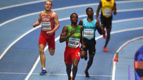 Every runner disqualified in men's 400m heat