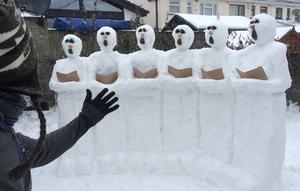 Singing snow songs? By George McGrath