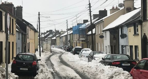 Status orange weather warning for Ireland has been extended