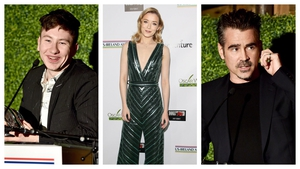 Irish eyes were smiling at the Oscar Wilde pre-Oscars bash