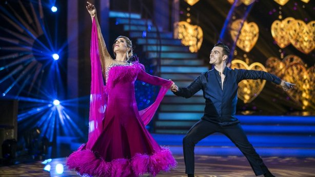 Erin McGregor and Ryan McShane's beautiful waltz was a show highlight