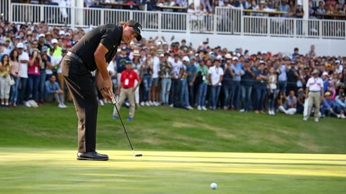 Phil Mickelson wins his first title in five years at the WGC-Mexico Championship