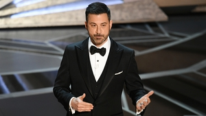 Jimmy Kimmel did not shy away from the Harvey Weinstein scandal in his opening monologue
