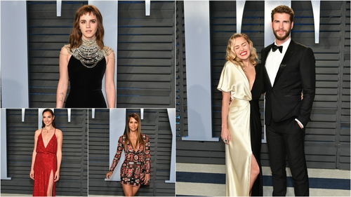 2018 Vanity Fair Oscar Party: Red Carpet Fashion