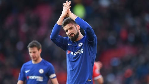 Giroud and Caballero staying at Chelsea