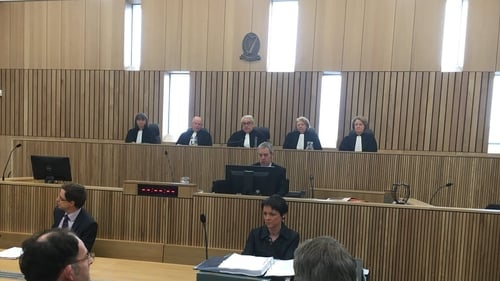 The court is sitting in Limerick - only the second time in the State's history that it has sat outside Dublin