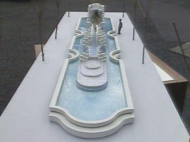 Anna Livia Sculpture Model (1988)