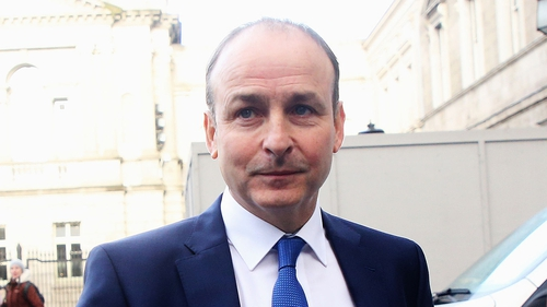 Micheál Martin said the next budget should be about housing and health