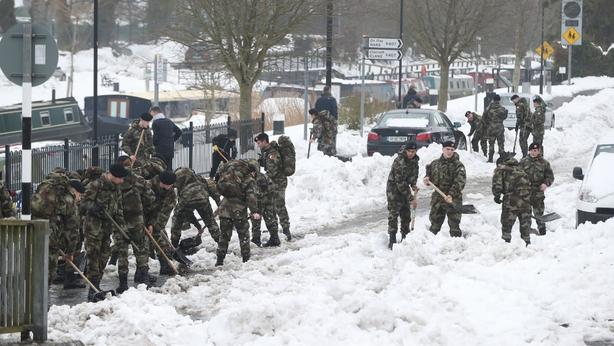 Army cadets Sallins Co Kildare