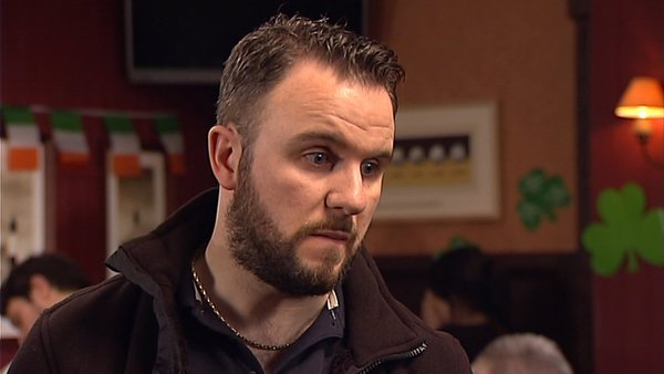 A furious Decco confronts Decco in Fair City