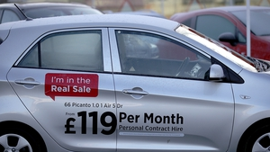 Around 4,000 cars were registered in the UK with most of the sales being fleet purchases, preliminary figures show