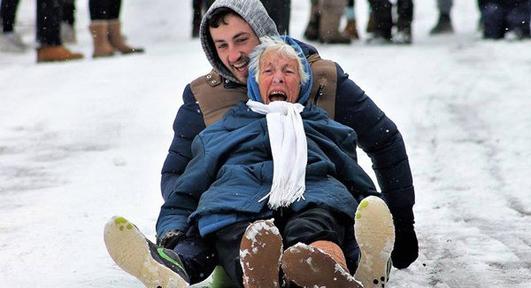 Granny Pic Goes Viral !