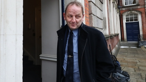 Maurice McCabe arriving at the tribunal earlier today