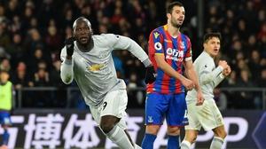 Romelu Lukaku equalised for United
