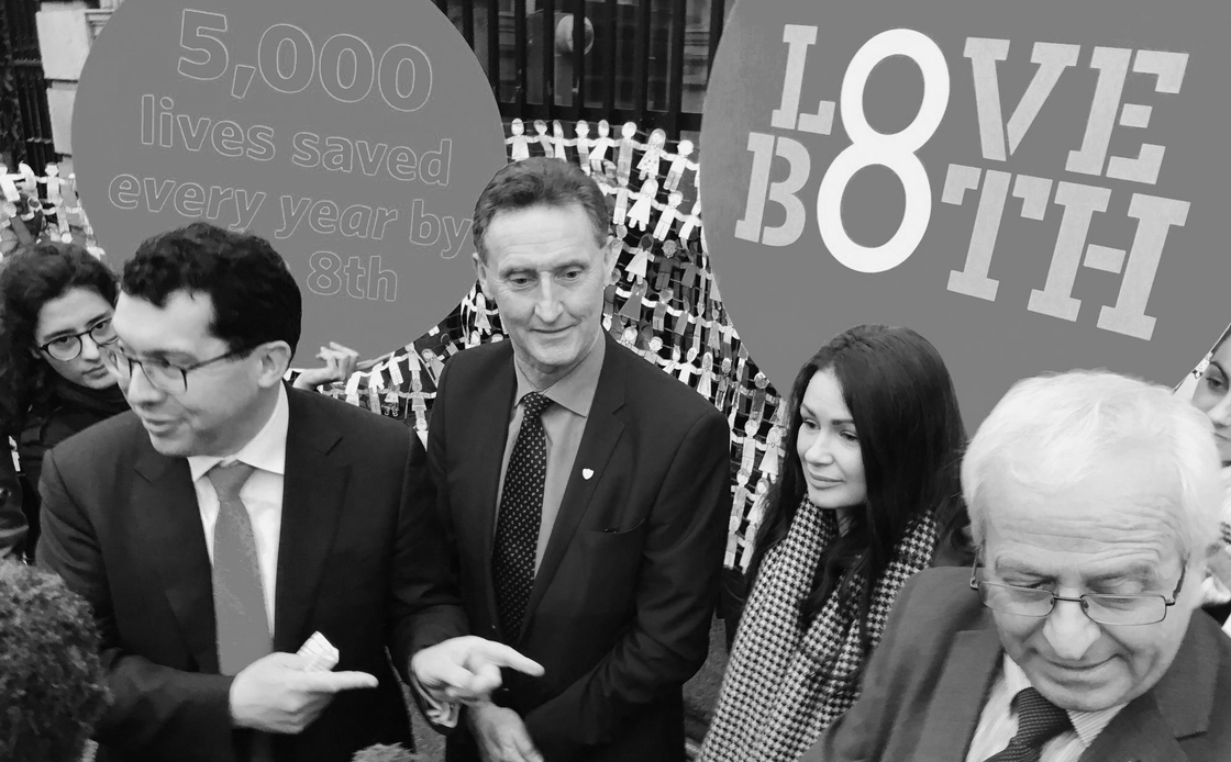 Image - Senator Rónán Mullen, Deputies Peter Fitzpatrick & Mattie McGrath at launch of their Minority Report