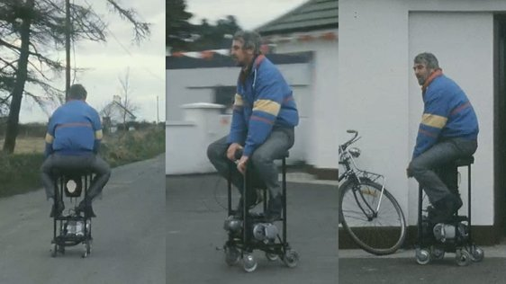 Motorised Barstool (1988)