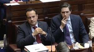 Taoiseach Leo Varadkar and Minister for Health Simon Harris