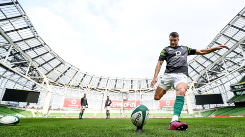 Conor Murray was called on for kicking duties against Wales