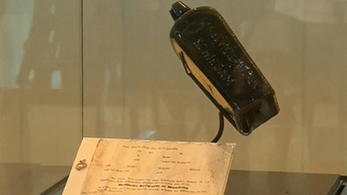 Oldest-known German message in a bottle discovered in Australia