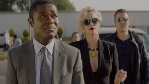 David Oyelowo, Charlize Theron and Joel Edgerton in Gringo