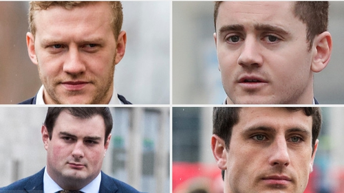 All four accused deny the charges against them