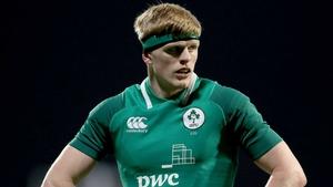 Ireland U20s captain Tommy O'Brien