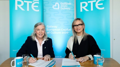 RTÉ and Galway 2020 announce partnership for Galway 2020 European Capital of Culture