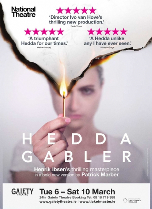 "Review:  ""Hedda Gabler"" at the Gaiety Theatre"