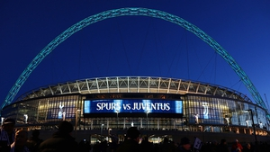 Wembley will host all three of Spurs home group games in the Champions League
