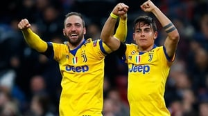 Gonzalo Higuain and Paulo Dybala got the goals that dumped Spurs out