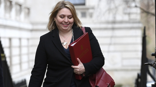 Karen Bradley is also faced with a decision on whether or not to reduce Assembly members' pay