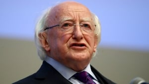 Michael D Higgins commended both his female predecessors who he said made significant contributions