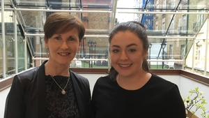 Jean Winters, Head of the CIF Building Equality Working Group and Lisa Roche, a quantity surveyor with Collen Construction  Jean Winters who head's the CIF Building Equality Working Group