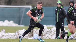 Garry Ringrose received plenty of praise for him display against Japan