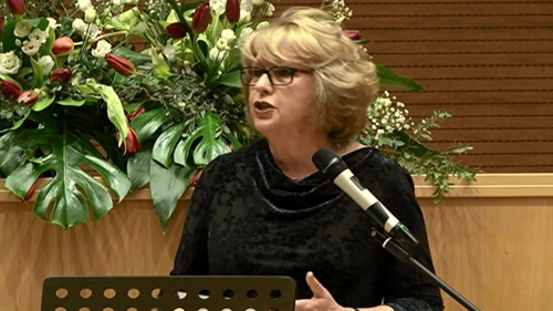 Mary McAleese was speaking at the 'Voices of Faith' conference in Rome