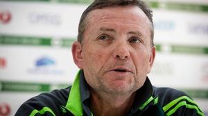 Ireland head coach Graham Ford