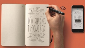 The kit uses a smart pen to replicate what you draw on paper digitally in the app