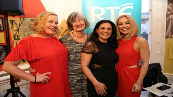Taragh Loughrey-Grant (Digital Editor RTÉ LifeStyle) was joined byMargaret Martin, (Director, Women's Aid), Siobhan Murray, (Psychotherapist) and special guest Katherine Lynch (Comedian & Actress).