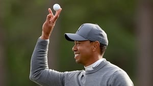 Tiger Woods hit a one under par 71 in Innisbrook to leave him in the hunt after day one