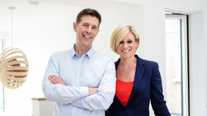 Architect Dermot Bannon and Quantity Surveyor Lisa O'Brien