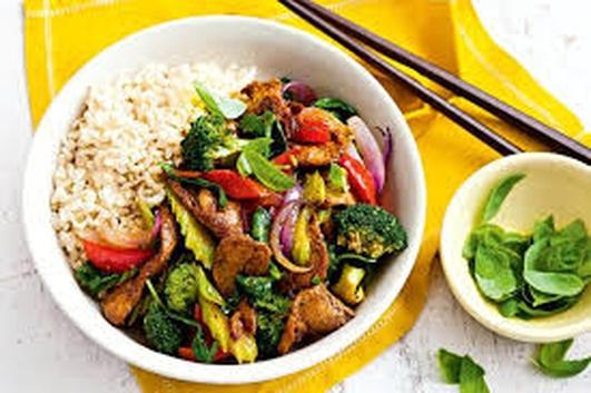 Nevens Recipes - Chinese Pork and Three Pepper Stir-Fry