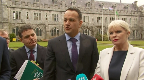 Leo Varadkar said he wanted all in Leinster House to be involved in the debate