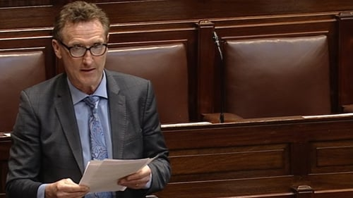 Peter Fitzpatrick said he felt isolated within Fine Gael