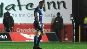Leinster's Sean O'Brien goes off injured