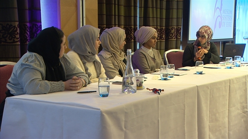 The event heard about the volunteer work many Muslim women are engaged in around the country