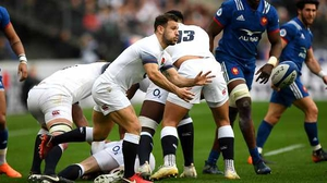 Danny Care of England in action.